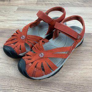 Keen Rose sandals, Burnt Henna, sz 8
